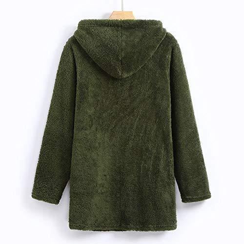 Giacche Elegante Pullover Parka Donna Ashop Abbigliamento Donna Cappotto Verde Cappotto Invernali Cappotto qECaRwT
