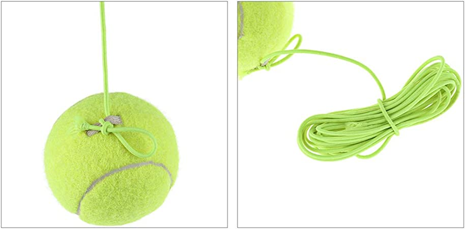 BEST OF BEST Tennis Training Ball with String Rebound Ball for Tennis Trainer Practice Equipment Sports