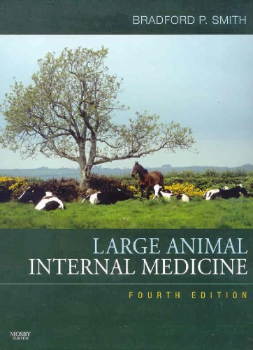 Large Animal Internal Medicine - Text and VETERINARY CONSULT Package-
