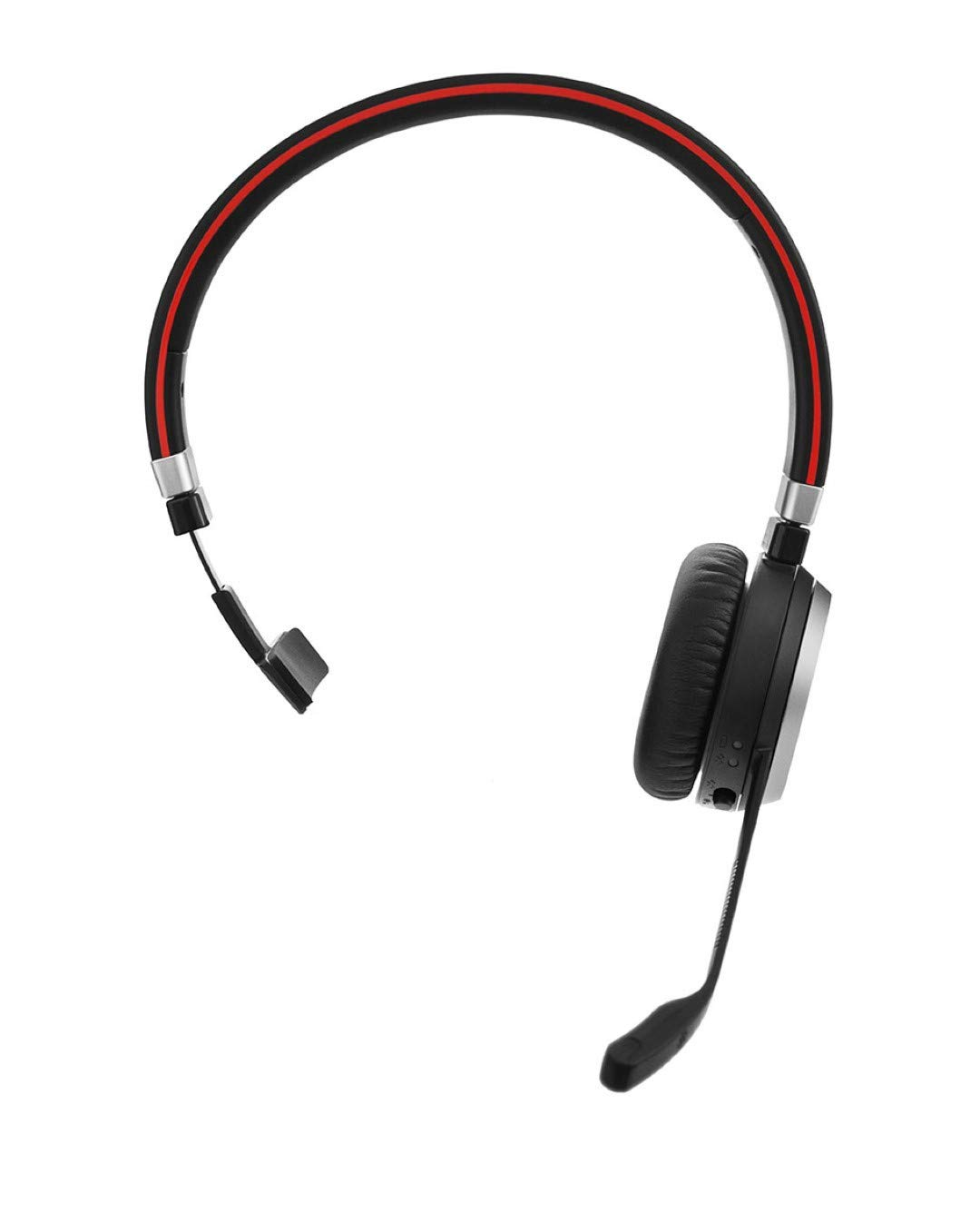 Jabra Evolve 65 Wireless Bluetooth Mono headset- optimised for unified  communications, Black