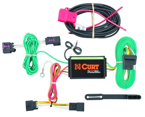 CURT 56214 Vehicle-Side Custom 4-Pin Trailer Wiring Harness for Select Chevrolet Cruze by Curt Manufacturing