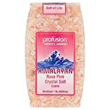 Profusion Himalayan Rose Pink Coarse Salt (500g) - Pack of 6