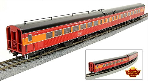 Broadway Limited Southern Pacific Coast Daylight Passenger Car - Articulated Chair (2-Car Set) HO Scale