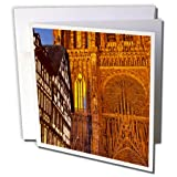Strasbourg Cathedral Bas-Rhin France Brian Jannsen- Greeting Cards, 6 x 6 inches, set of 6 (gc_136286_1)