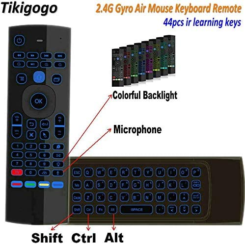 Calvas Universal 2.4G Wireless Air Mouse Keyboard Remote Control For PC Android TV Box