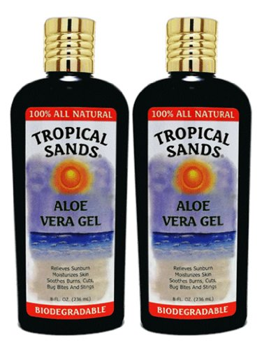 Tropical Sands Toutes Pure Natural Aloe Vera Gel 2-Pack