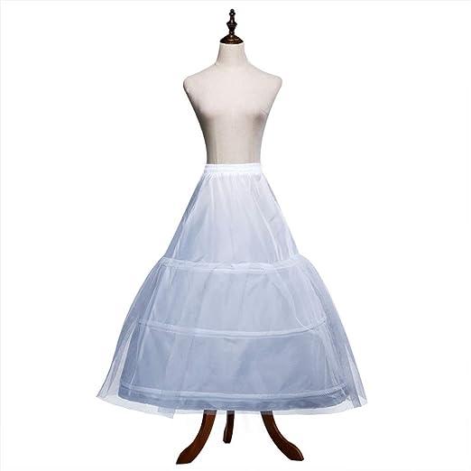 Kinandpri Falda de Vestir de Crinolina para Mujer con Vestido de ...