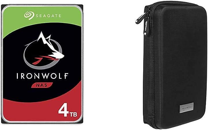 Seagate Ironwolf 4 Tb Hdd Nas Interne Festplatte 3 5 Computer Zubehör