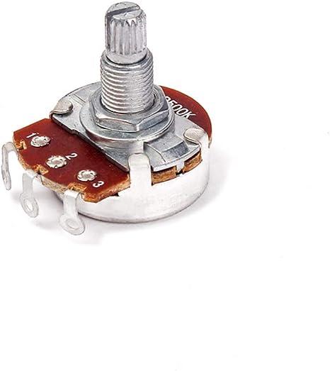 HEALLILY 500k Audio amplificador de guitarra potenciómetro ...