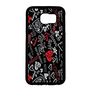 Attractive Printed Coach Phone Case Cover for Samsung Galaxy S6 Coach Fashion