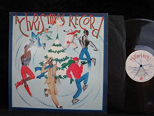 A Christmas Record (UK 1st pressing vinyl - Mall Cristina