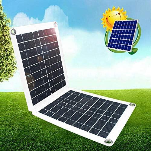 Yongirl Solarpanel-Kit mit Solarladeregler USB-Solar Panel-Batterie Regler 60W 18/12 / 5V