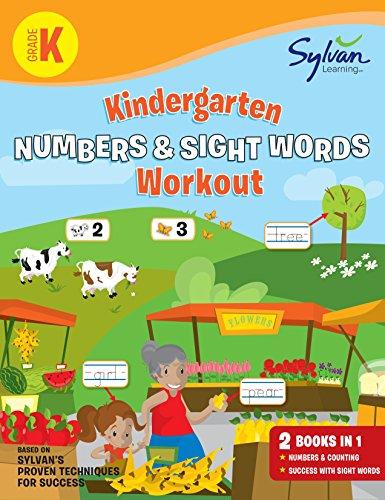 Kindergarten Numbers & Sight Words Workout (Sylvan Beginner Workbook)