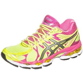 ASICS Gel Nimbus 16 Laufschuh Damen gelb, Größe 37,5: Amazon