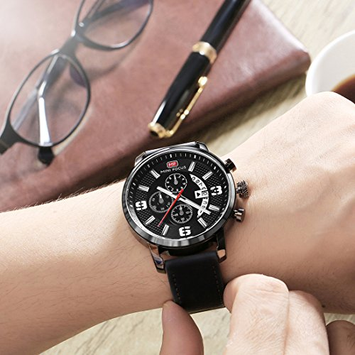 MINI-FOCUS-Men-Watches-Gray-Leather-Strap-Fashion-Business-Casual-WristWatch-Analog-QuartzWaterproof-BlackBlue-for-Family-Gift
