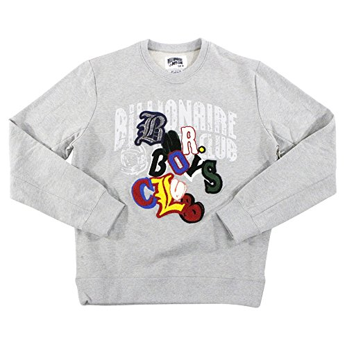df16855c73f2 Amazon.com  Billionaire Boys Club Alpha Crew Sweatshirt Heather Grey  871-9300  Clothing