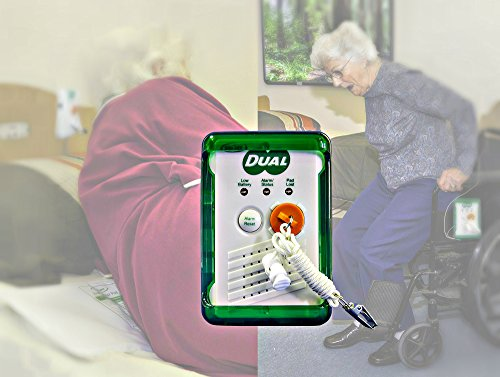 Smart Caregiver® Bed and Chair Exit Alarm System for Fall & Wandering Prevention – Know when they get up!