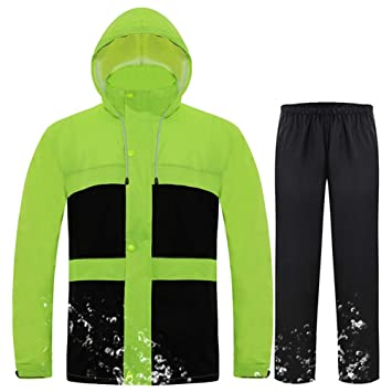 Traje Impermeable Chaqueta Impermeable Conjunto Impermeable ...