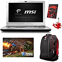 MSI PE60 7RD-059 Enthusiast (i7-7700HQ, 16GB RAM, 500GB NVMe SSD + 1TB HDD, NVIDIA GTX 1050 2GB, 15.6 Full HD, Windows 10 Pro) Gaming / Workstation Laptop