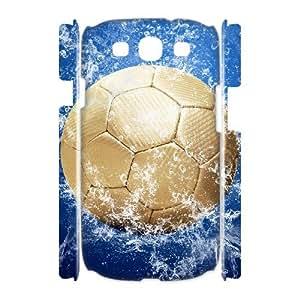 WJHSSB Football Customized Hard 3D Case For Samsung Galaxy S3 I9300