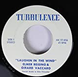 elmer reising & girard vaccaro 45 RPM laughin in the wind / jesus is coming back