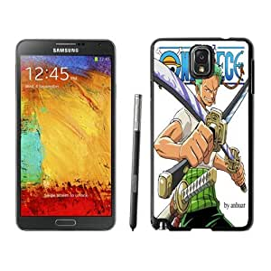 Beautiful DIY Designed With roronoa zoro one piece Cover Case For Samsung Galaxy Note 3 N900A N900V N900P N900T Phone Case CR-529