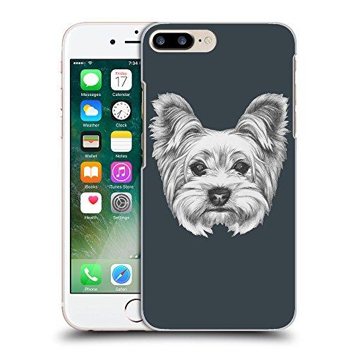 GoGoMobile Coque de Protection TPU Silicone Case pour // Q05120606 Chien dessin Arsenic // Apple iPhone 7 PLUS