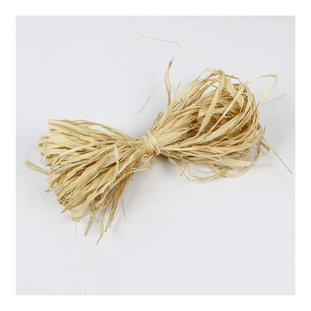 1000g Natural Raffia Raffia Ribbon Perfect for Crafts Weaving Or Bouquets Decoration Fill Packaging Party Supplies by RKRGQ