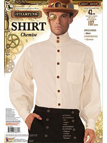 Forum Novelties Men's Steampunk Costume Shirt, Multicolor, Standard