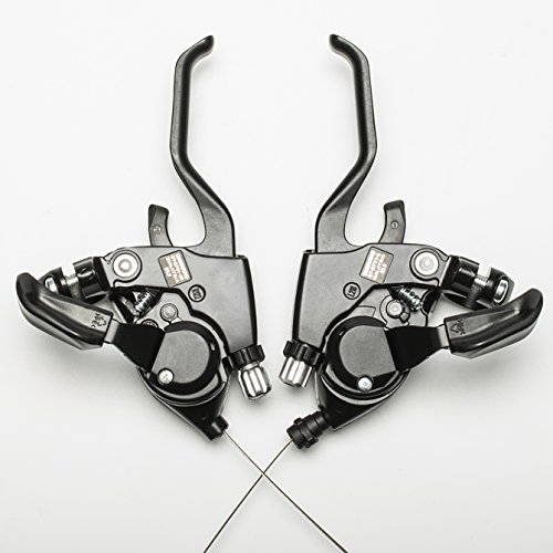 Shimano ST-EF51 3x8 Speed Shifter Brake Lever Combo With Shift Cable by Top-bike (Image #2)