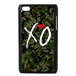 Xo The Weekend OVOXO Durable Plastic Snap On Case For Ipod Touch 4