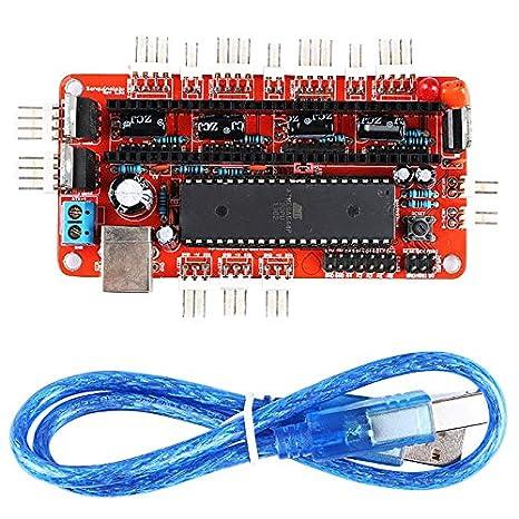 Nrpfell Brand Sanguinololu Ver1.3A Impresora 3D Placa Base Placa ...