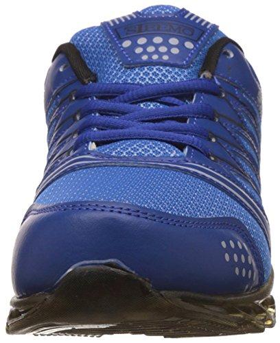 Steemo Mens Fitness leichte Schnürschuhe Laufschuhe US-Größe Navy blau