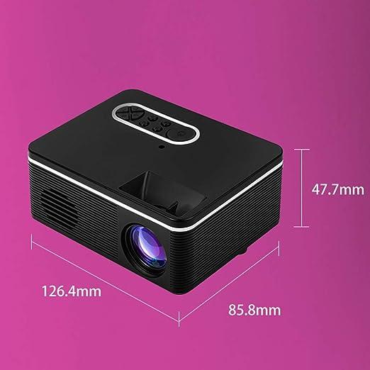 Mini Proyector Proyector Portátil con Batería De Litio Soporte ...