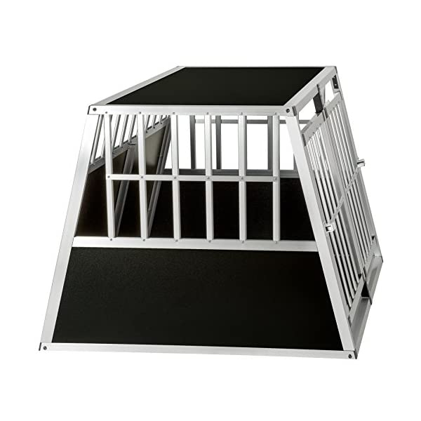 TecTake Dog cage trapezoidal - different models - 6