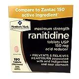 Member's Mark 150 mg Ranitidine Acid Reducer (190 ct.)