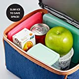 Fit & Fresh Cool Coolers Slim Reusable Ice Packs
