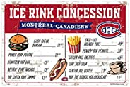 Montreal Canadiens 16x23 PVC Arena Concession Sign
