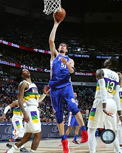 a9e4f2edf Image Unavailable. Image not available for. Color  Boban Marjanovic 2018-19 Philadelphia  76ers NBA ...