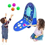 KooJoee Kids/Children Waterproof Foldable Pop Up Indoor and Outdoor Basketball Score Hoop with 4...