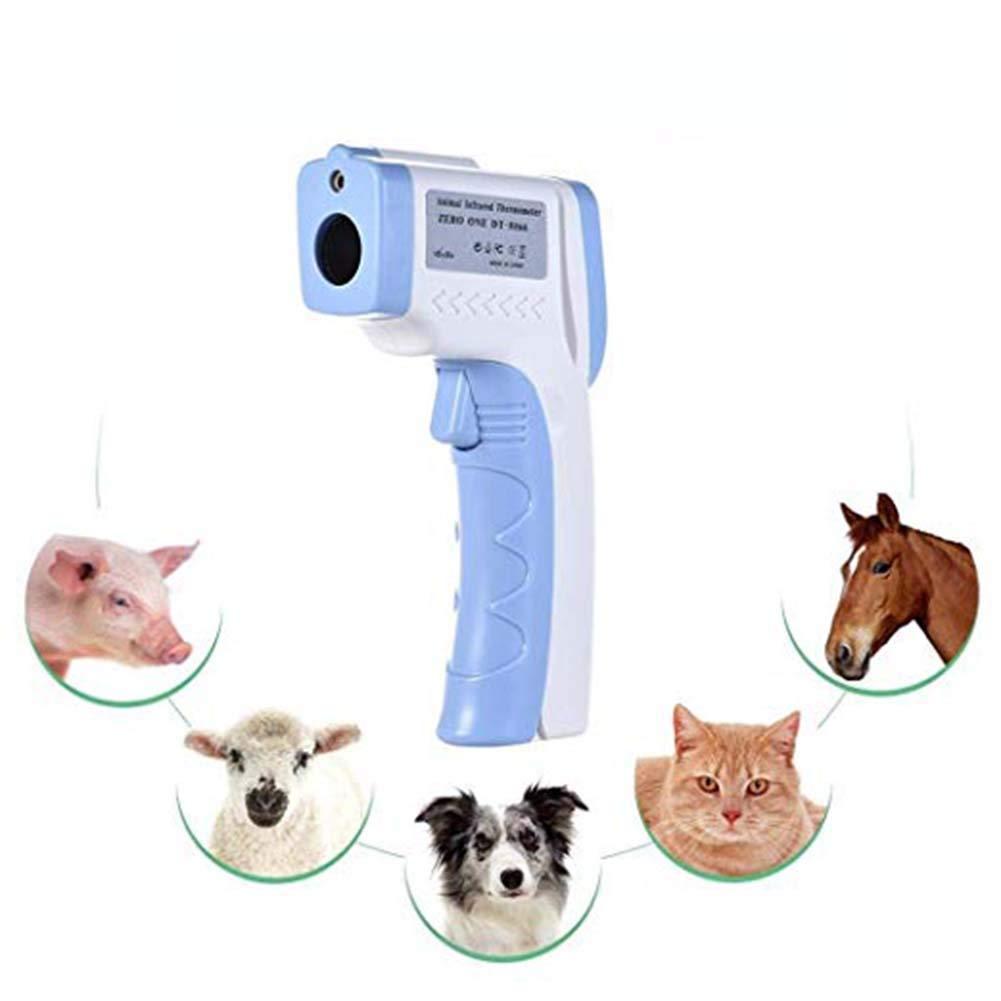 SSDS Digital Pet Thermometer Non-Contact Infrared Veterinary Thermometer for Dogs Cats Horses and Other Animals by SSDS