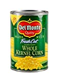 Del Monte Canned Fresh Cut Golden Sweet Whole Kernel Corn, 15.25-Ounce