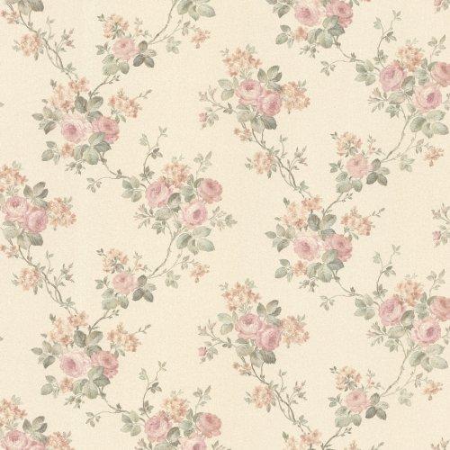 Wallpaper Blush - Mirage 992-68369 Kristin Rose Trail Wallpaper, Blush