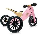 Kinderfeets Tiny Tot 2-in-1 Trike Balance Bike Pink