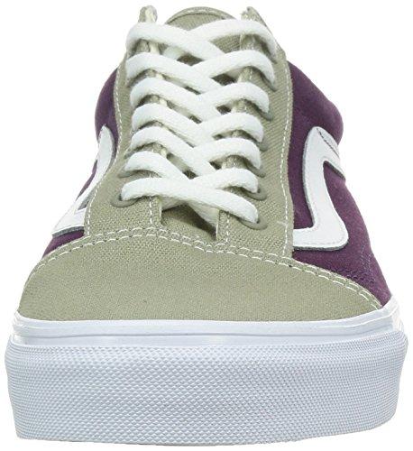 Sneakers Beige Vans Basses Violet Blanc Homme qOaaxrd