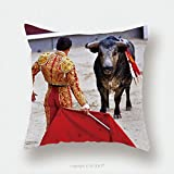 Custom Satin Pillowcase Protector Traditional Corrida Bullfighting In Spain Bulfighting Has Been Prohibited In Catalunia Since 155341151 Pillow Case Covers Decorative