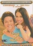 Must Be Love Filipino DVD (2013) Kathryn Bernardo, Daniel Padilla