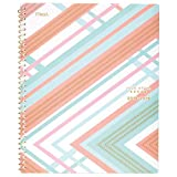 Five Star Student 2018-2019 Academic Year Weekly & Monthly Planner, Large, 8-1/2 x 11, Style, Interrupt Coral (CAW509D2)