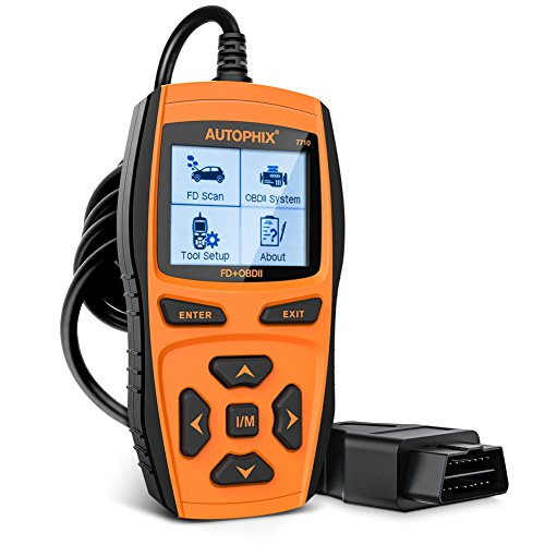 Autophix OM121 OBD2  reader,Car Check Engine Light Fault Error Code Scanner, obd 2 odb2 obdii  CAN...