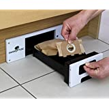 Sweepovac Kitchen Vacuum For Kitchen Plinths - Stainless Cover by Sweepovac